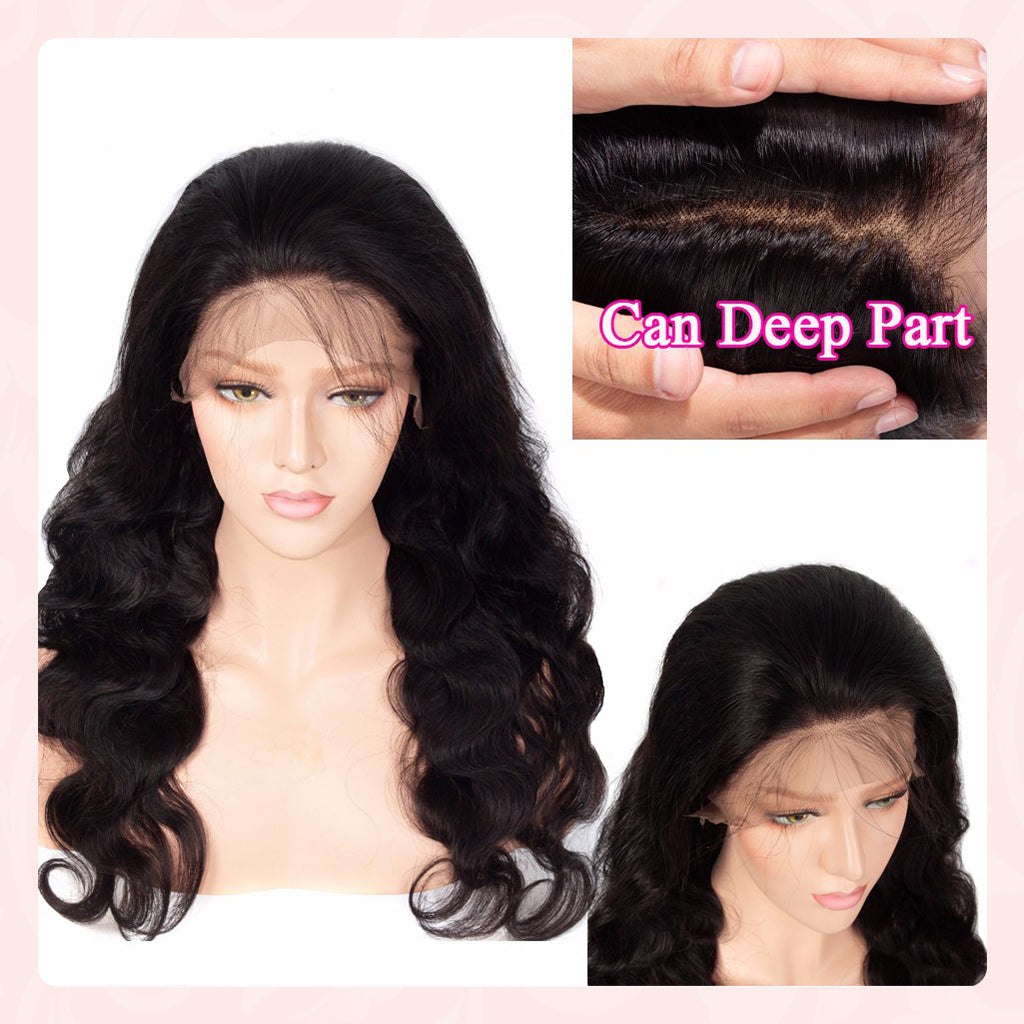 6x6 Lace Closure Wig Brazilian Wavy Human Hair Wigs Natural Looking Body Wave Lace Front Wigs Jessie S Selection