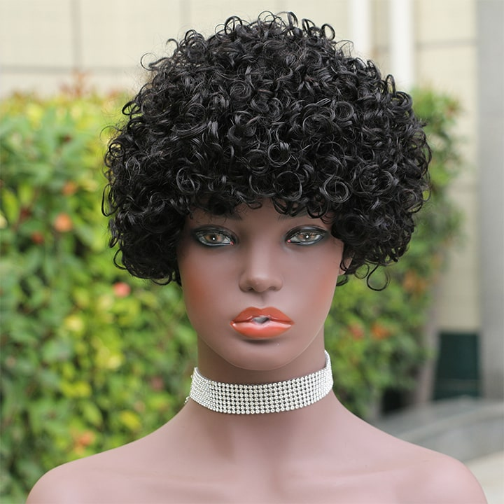 short curly wigs #1