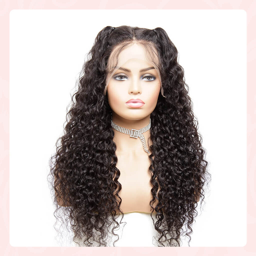 HD Swiss Lace Frontal Human Hair Wigs Best Undetectable Transparent Lace Front Wig