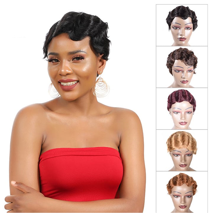 Finger Wave Wigs
