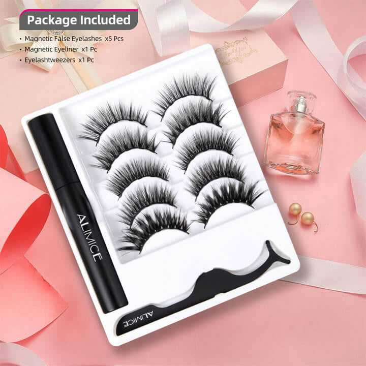 Reusable Magnetic Eyeliner and Lashes