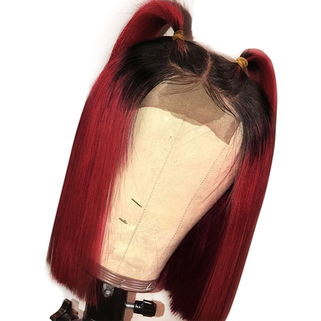 1b 99j ombre human hair wigs