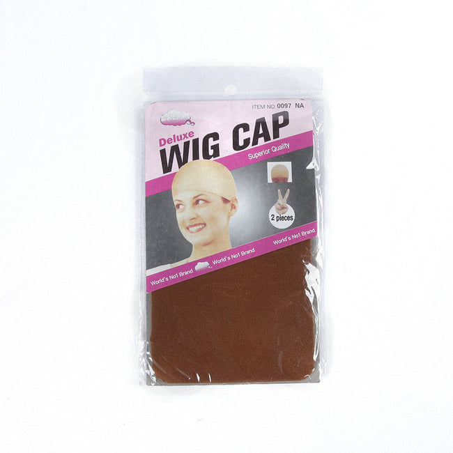 2 PCS/Pack Wig Cap Hair Net for Weave Hairnets Wig Nets Stretch Mesh Wig Cap for Making Wigs