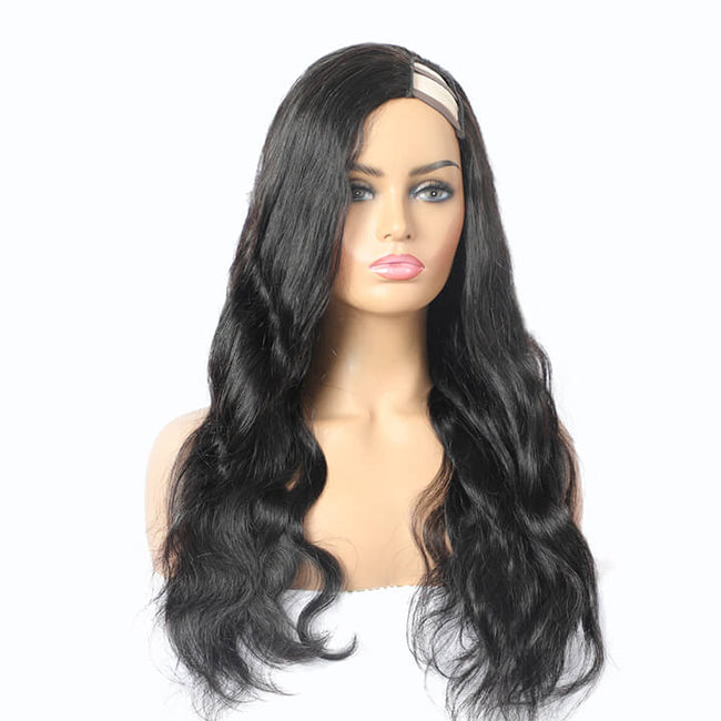 Brazilian Body Wave U Part Wig Side Part Human Hair Wigs