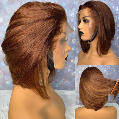 chestnut brown bob wig