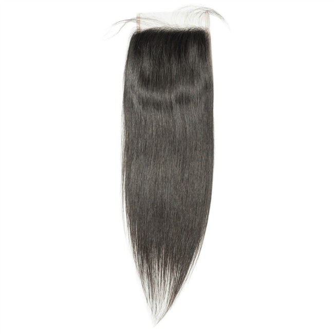 Straight 4X4 Transparent HD Lace Closure 100% Virgin Human Hair