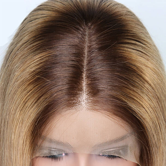 choclate color hair wig