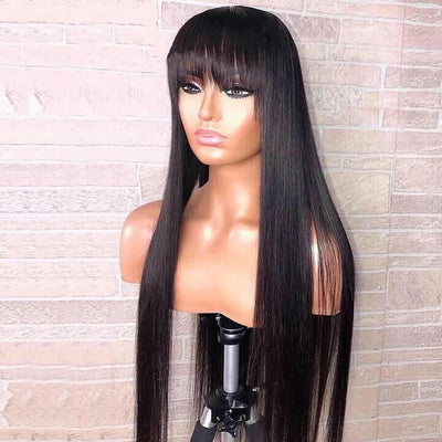 fake scalp lace front wigs STRAIGHT