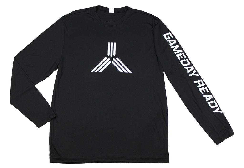 BLACK / WHITE GDR Long Sleeve