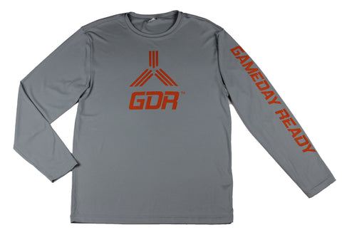 GRAY / ORANGE GDR Long Sleeve