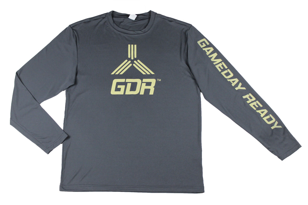 GRAY / GOLD GDR Long Sleeve