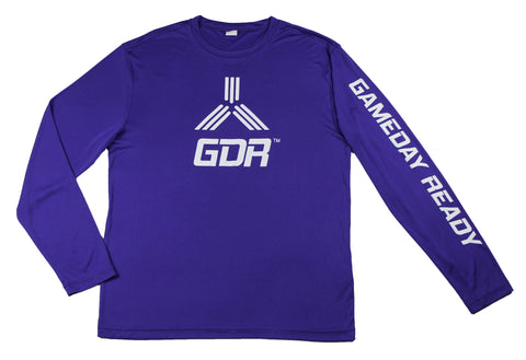 PURPLE / WHITE GDR Long Sleeve