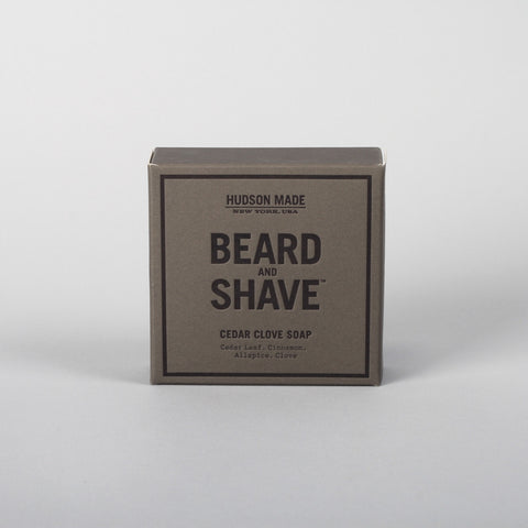 Hudson Made beard & shave, Cedar Clove Soap