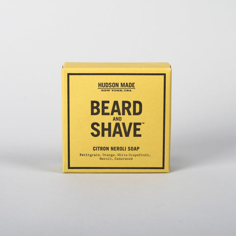 Hudson Made beard & shave, Citron Neroli Soap