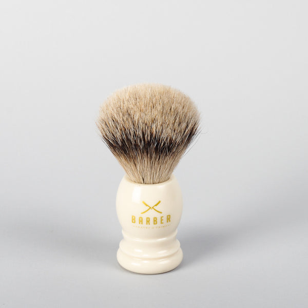 Barber Brush Silvertip Badger