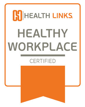 Certified Healthy Workplace™ Window Sticker