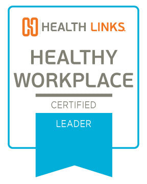 Certified Healthy Workplace™ Leader Window Sticker