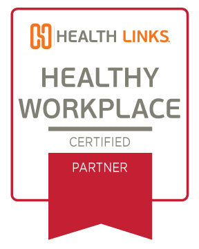 Certified Healthy Workplace™ Partner Window Sticker