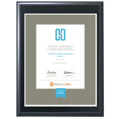 Certified Healthy Workplace™ Leader Plaque