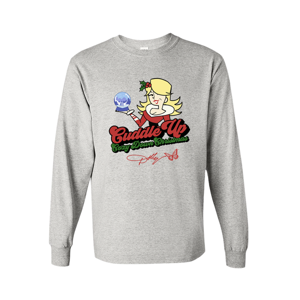 CUDDLE UP, COZY DOWN CHRISTMAS LONG SLEEVE