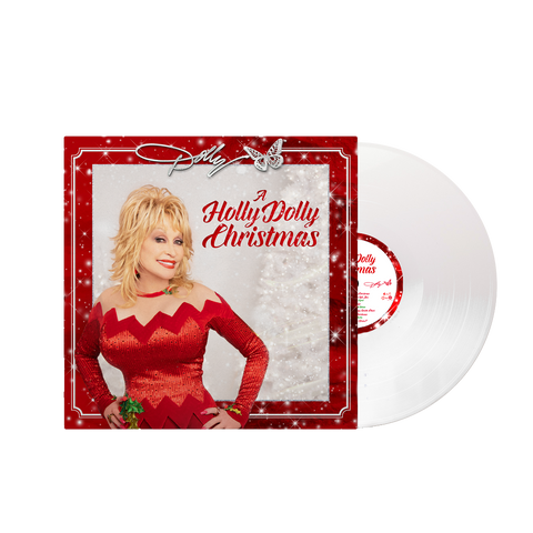 A HOLLY DOLLY CHRISTMAS - SOLID WHITE LP (EXCLUSIVE)