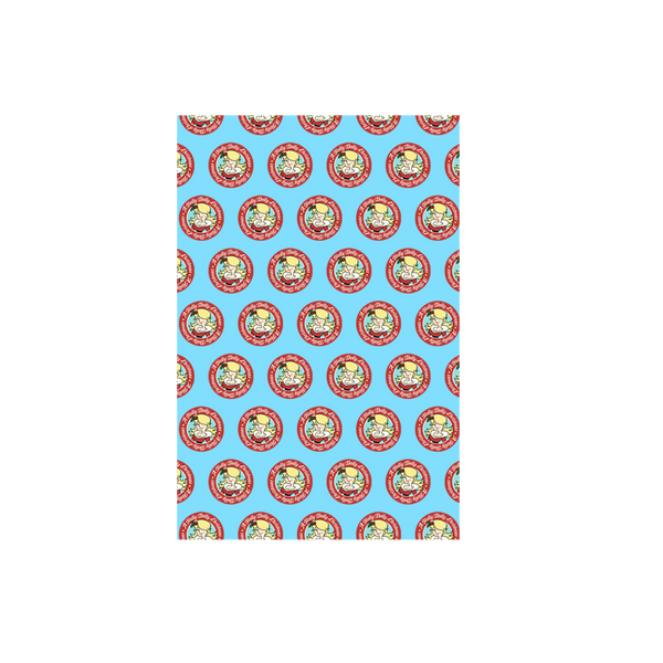 A HOLLY DOLLY CHRISTMAS WRAPPING PAPER SHEET PACK