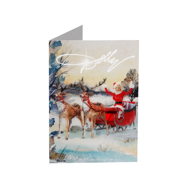 DOLLY SLEIGH GREETING CARD SET (3-PACK)
