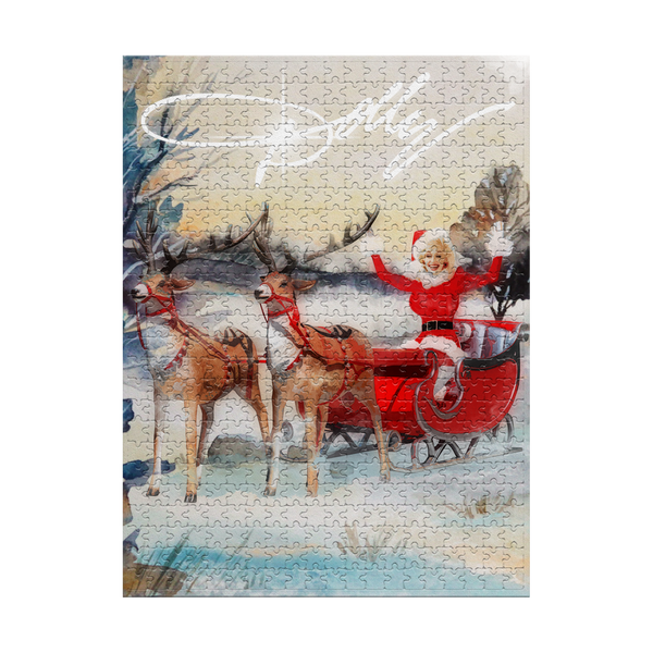DOLLY SLEIGH JIGSAW PUZZLE