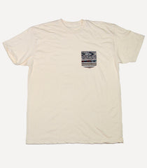 Aztec Pocket T - Creme