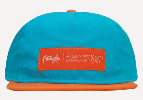 Dolphins Teal x Orange Snapback