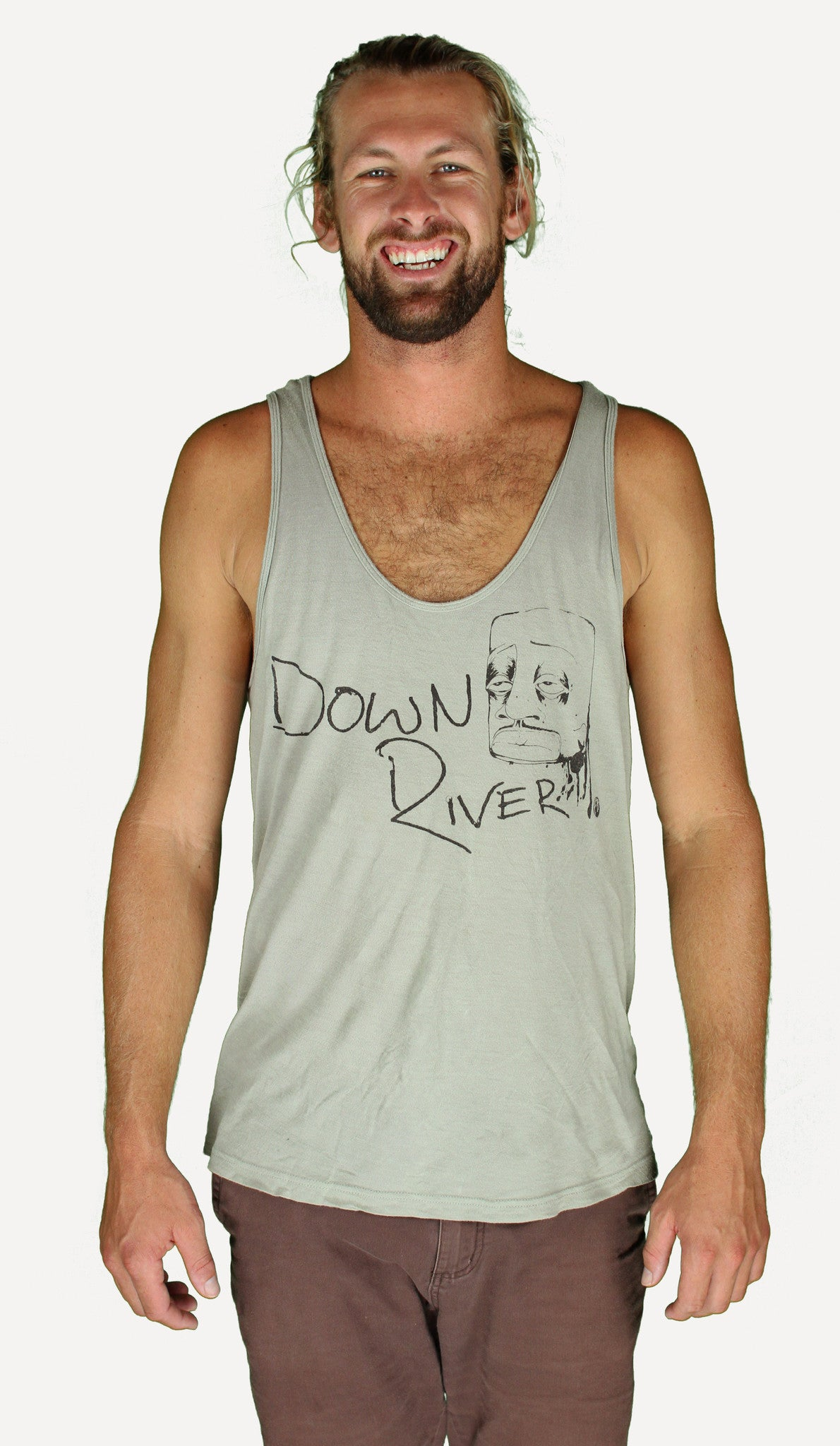 Down River -  Grey Taupe