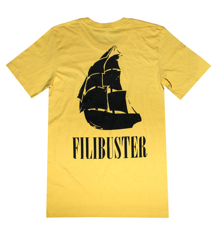 Dirty Pirate Ship || Mustard Yellow