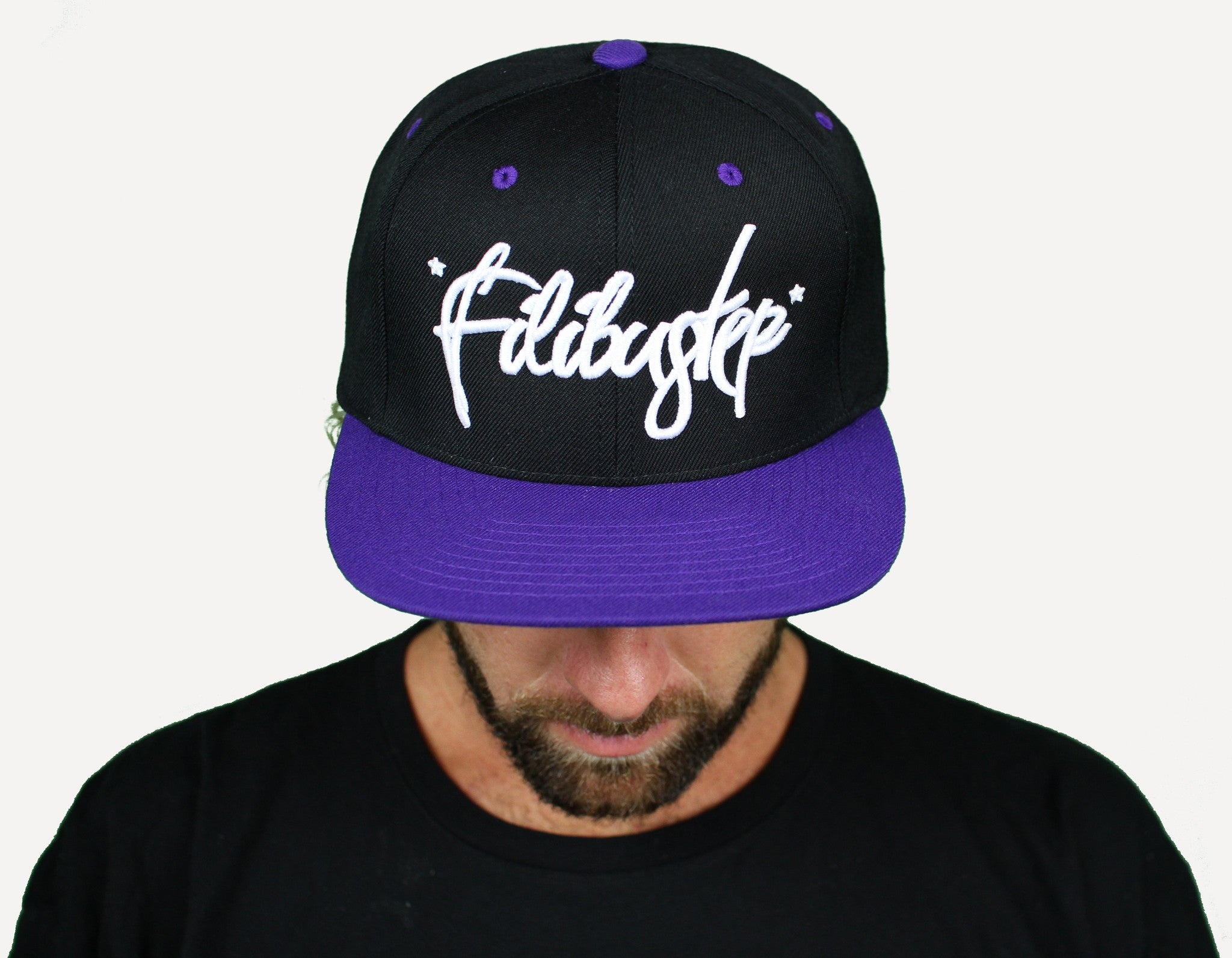 Fili Snapback - Purple/Black