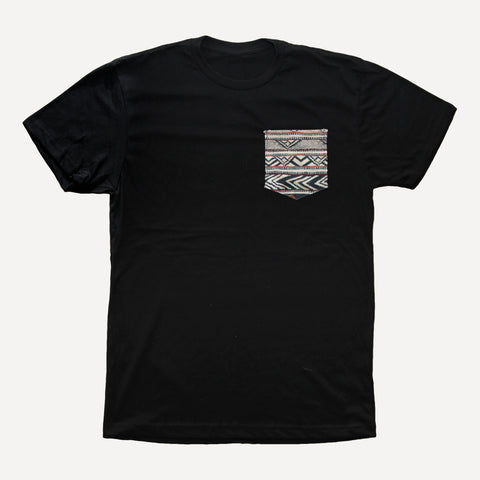 Indian x Black - Pocket Tee