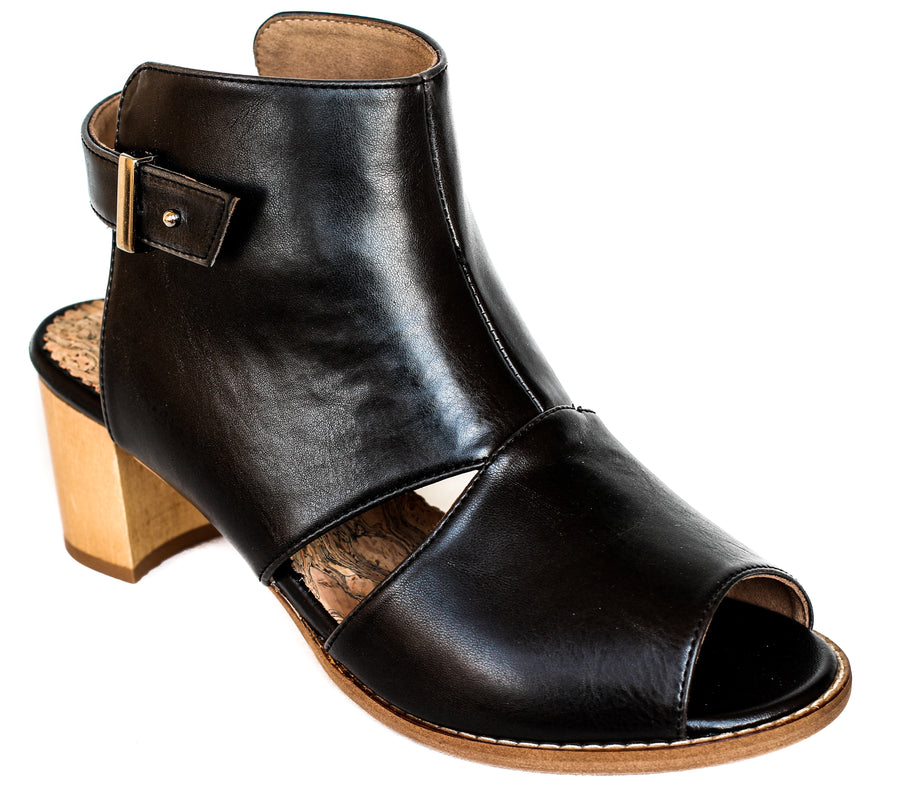 ALDEN CUT-OUT BOOTIE SANDAL