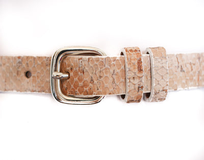 Natural Cork Waist Belt 3/4""