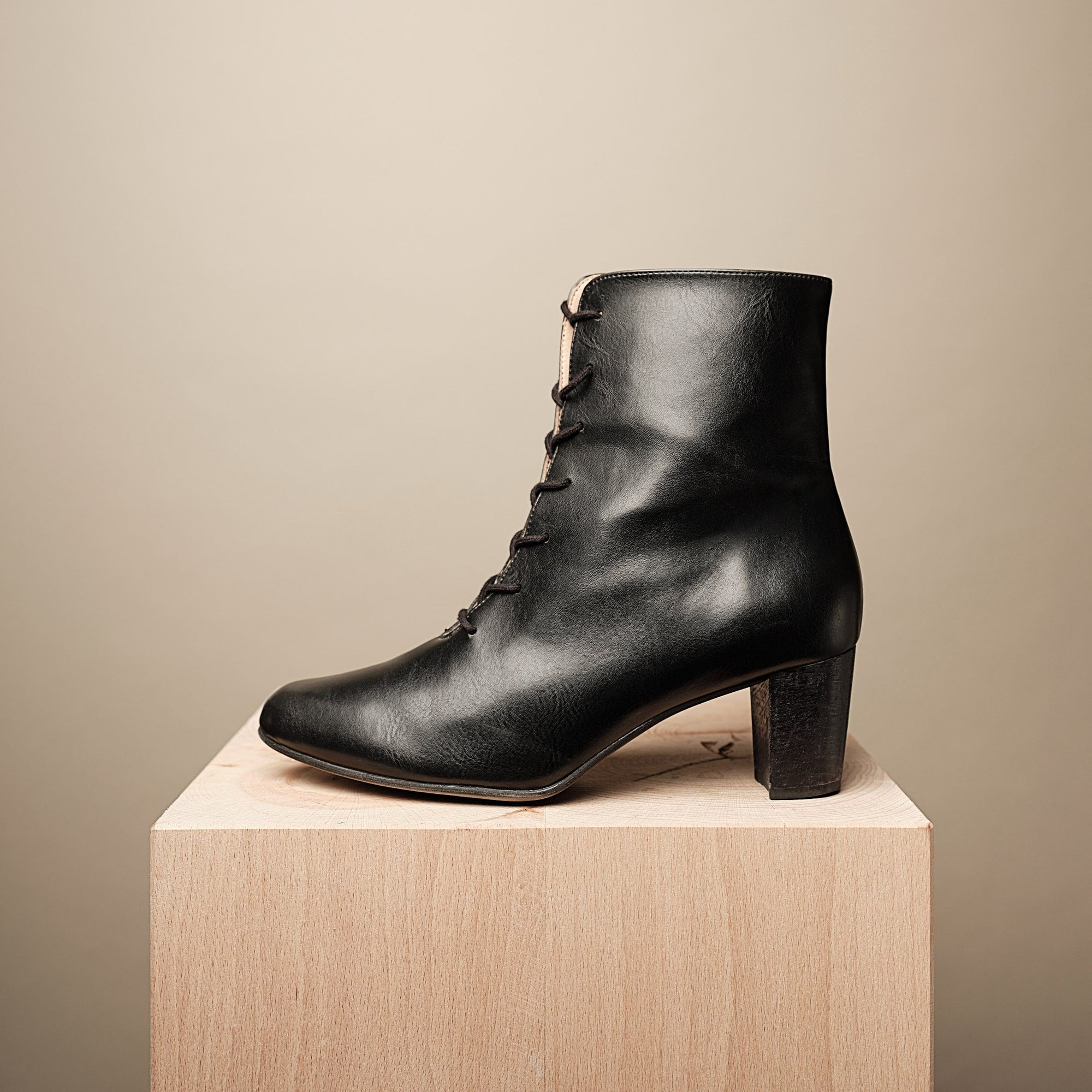 SYLVIA LACE-UP BOOTIE