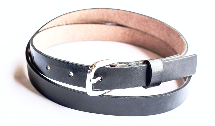 Black 2-in-1 Belt