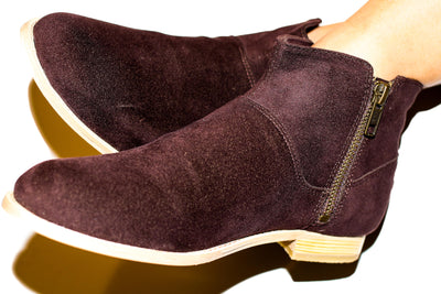 SAMPLE SALE Berlin Zip-UP Bootie