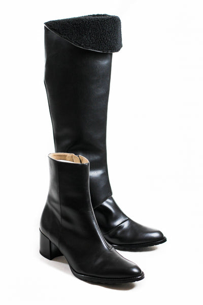 EDITOR Over the Knee Boot Upper