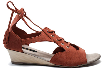 TYLER Wedge Lace-up Sandal
