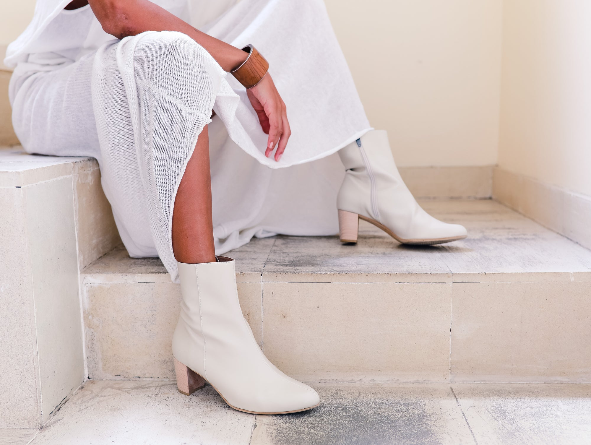 LAST CHANCE EDITOR ANKLE BOOTIE