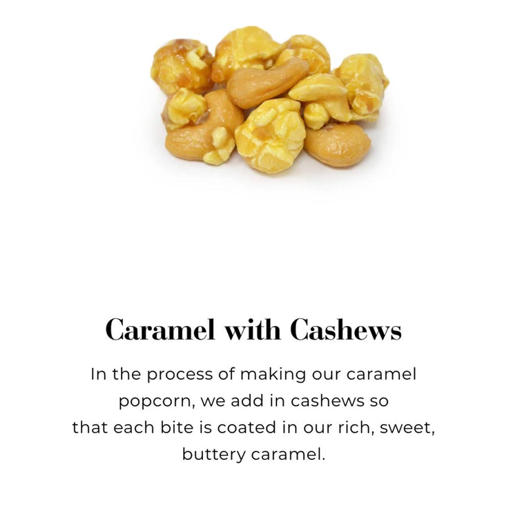 Caramel with Cashews