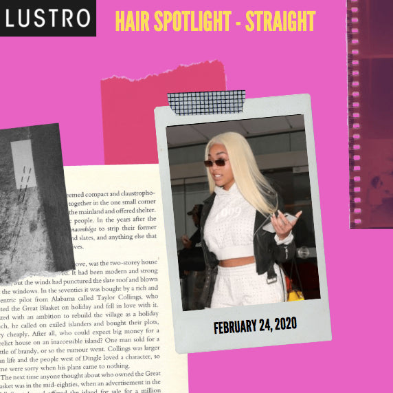 Hair Spotlight -- Lustro Straight | Lustro Hair: 100% Virgin & Remy Hair Extensions