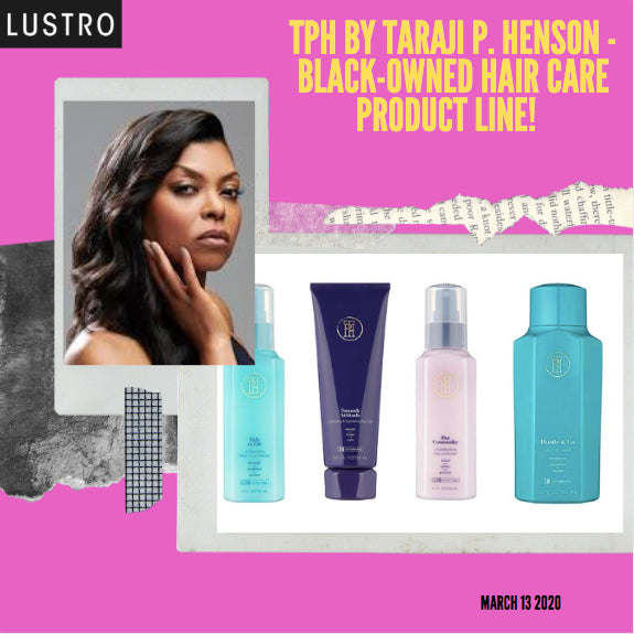 Taraji P. Henson's Debuts Her New Product Line: TPH By Taraji P. Henson - Now At Target! A Look Book | Lustro Hair: 100% Virgin & Remy Hair Extensions