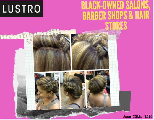 Black-Owned Salons, Barber Shops & Hair Stores | Lustro Hair: 100% Virgin & Remy Hair Extensions