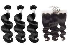 Three Bundle Deals w/Frontal (Body Wave)