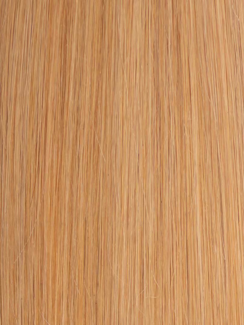 Lustro Straight Hand-Tied Weft Honey Blonde(#27) Remy Human Hair Extension(100 Grams)  - FINAL SALE