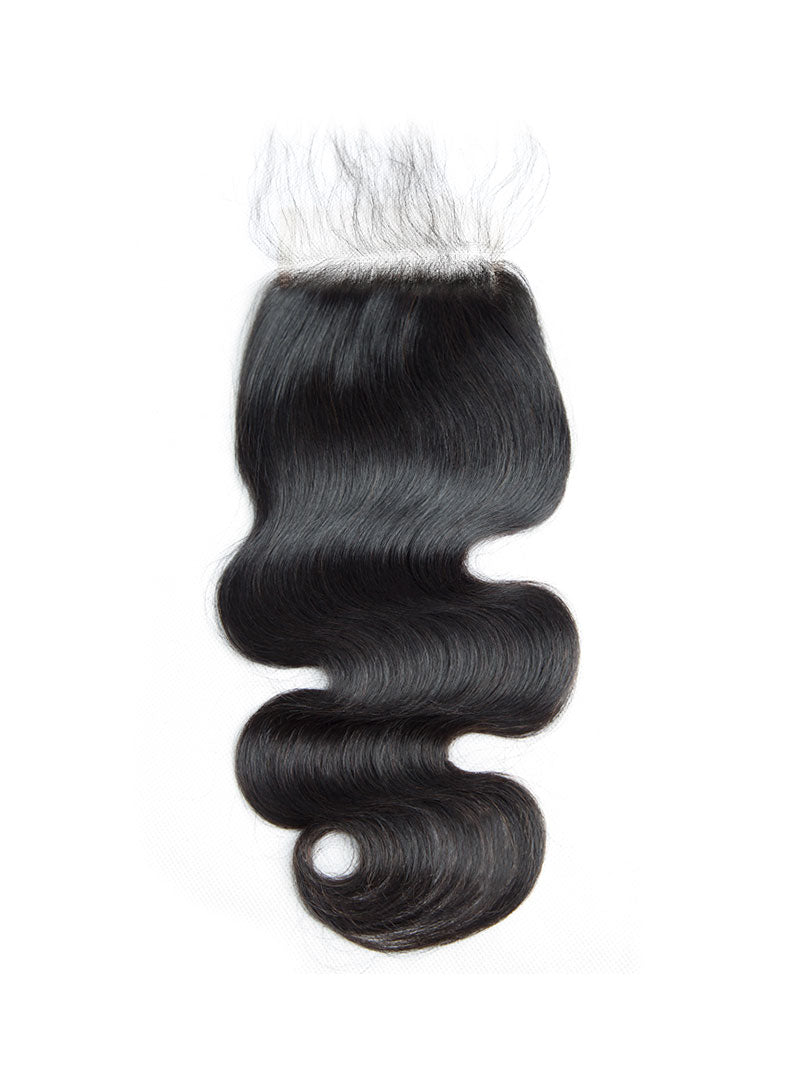 Lustro Body Wave Remy Human Hair Lace Closure