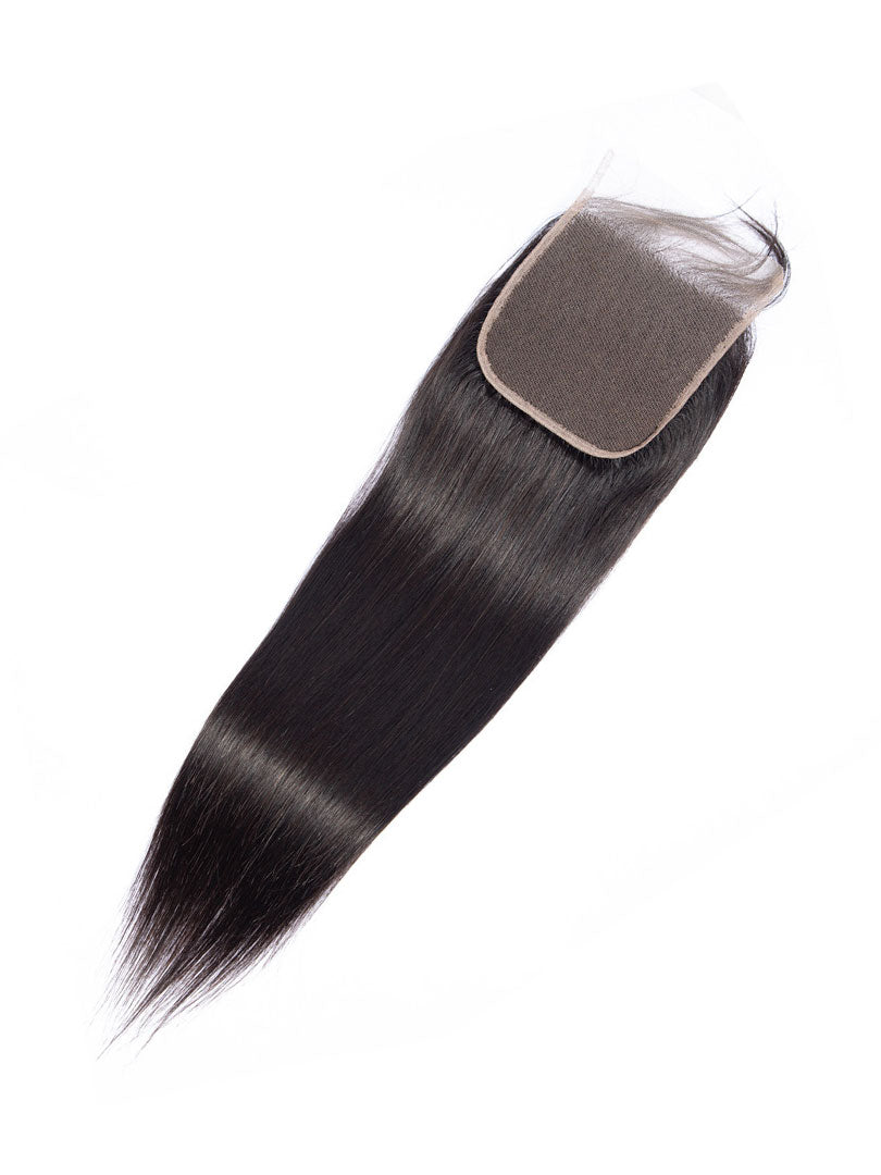 Lustro Straight Remy Human Hair Lace Closure